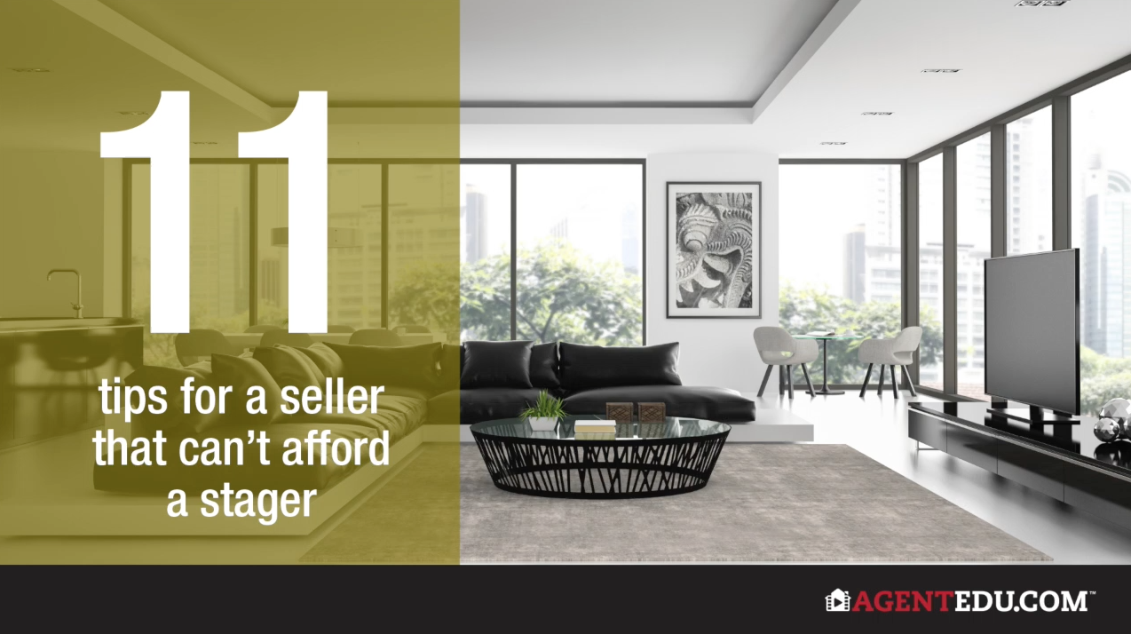 11 Tips For Sellers That Can't Afford A Stager