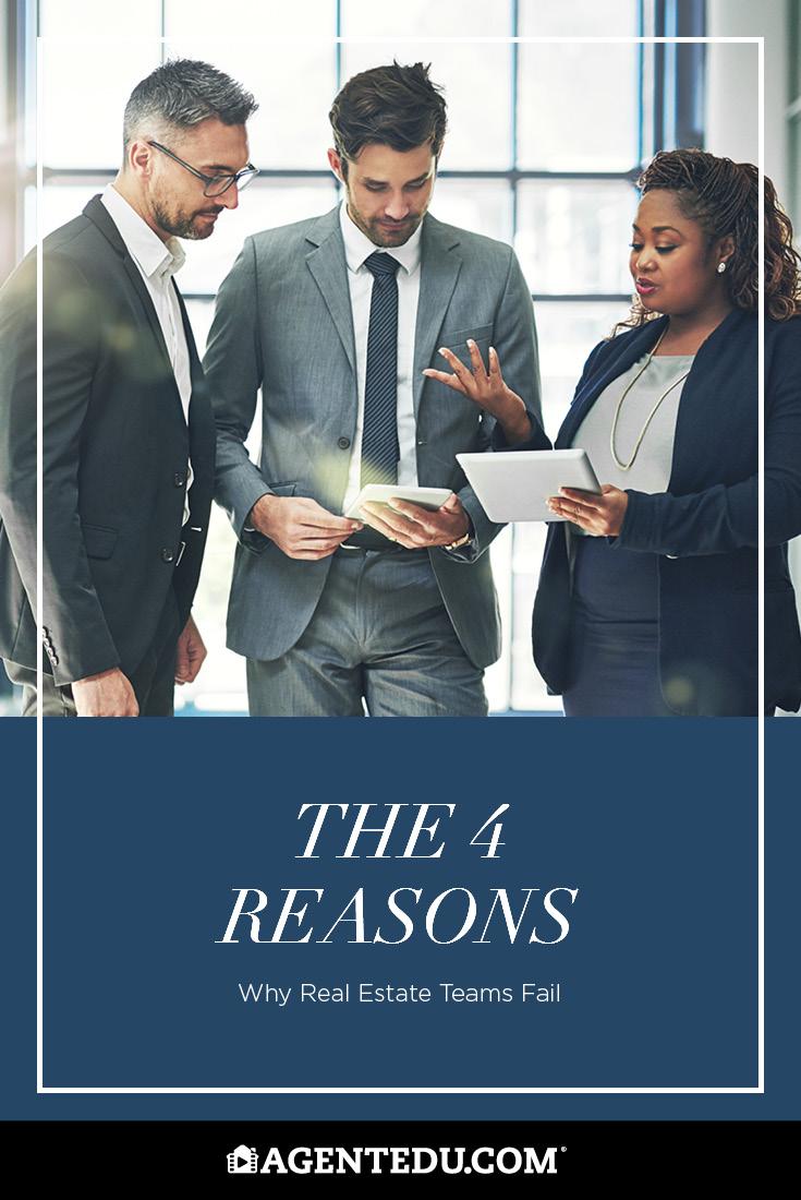 The 4 Reasons Why Teams Fail | AgentEDU.com