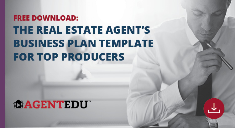 The Real Estate Agent's Business Plan Template for Top Producers | AgentEDU.com